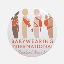 Babywearing International of CNY Lo Round Ornament