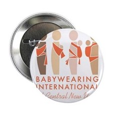 "Babywearing International of CNY Logo 2.25"" Button"