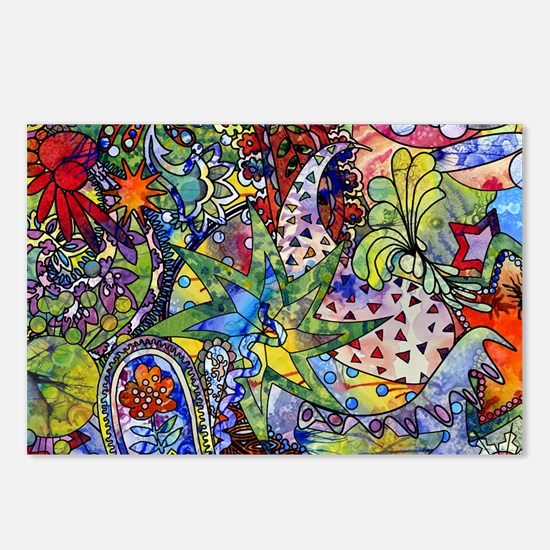 cool Paisley Postcards (Package of 8)