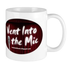 Vent Into The Mic T-Shirt Mug