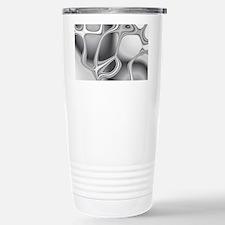 Liquid Silver Travel Mug