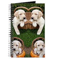 Cute Lab Puppy Journal