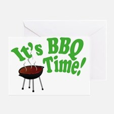 It's BBQ Time! Greeting Card