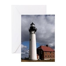 Au Sable Point Lighthouse Greeting Cards