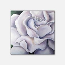 "Secret Love (Gardenia) Square Sticker 3"" x 3"""