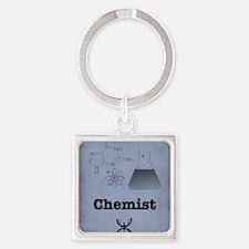 Chemist Square Keychain