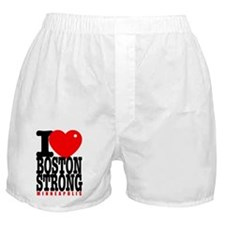 I Heart Boston Strong Minneapolis Boxer Shorts