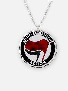 Antifa Logo Necklace