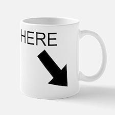 spank here Mug