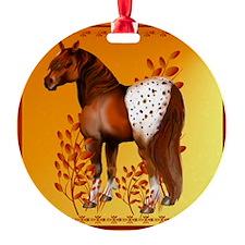 Big Copper Appaloosa Ornament