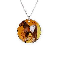 Big Copper Appaloosa Necklace