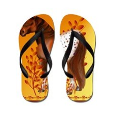 Big Copper Appaloosa Flip Flops