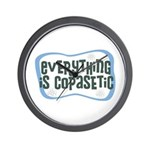 Everything is Copasetic Wall Clock