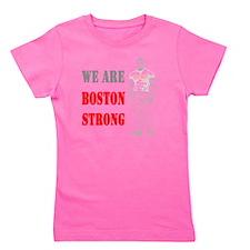 Boston Strong Man Girl's Tee