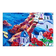Greek Oil Painting Postcards (Package of 8)