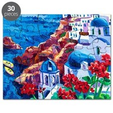 Greek Oil Painting Puzzle