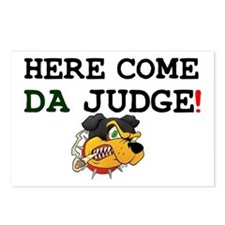 HERE COME DA JUDGE! Postcards (Package of 8)
