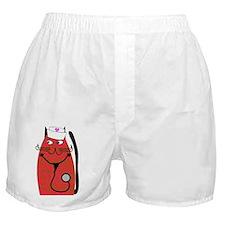 nurse cat 3 Boxer Shorts