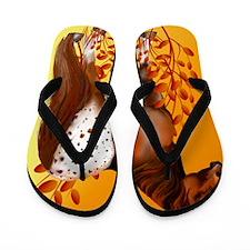 Big Copper Appaloosa Flip Flops