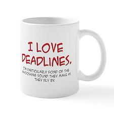 Deadlines Small Mug