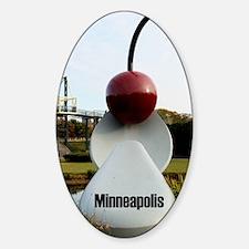 Minneapolis_8.887x11.16_iPadSleeve_ Sticker (Oval)