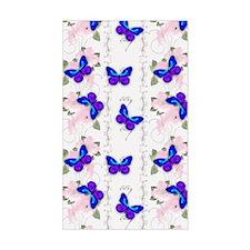 Blue Butterflies Decal