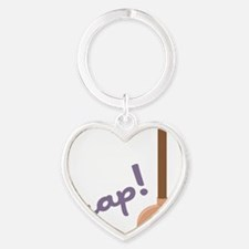 Crap Heart Keychain