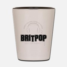 Britpop And The Others Shot Glass