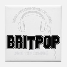 Britpop And The Others Tile Coaster