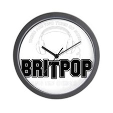 Britpop And The Others Wall Clock
