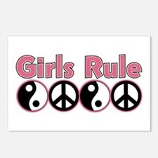 Girls Rule Postcards (Package of 8)