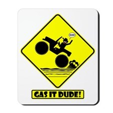 GAS IT Road Signs Mousepad