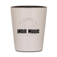 Indie Music And The Others Shot Glass