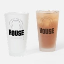House And The Others Drinking Glass