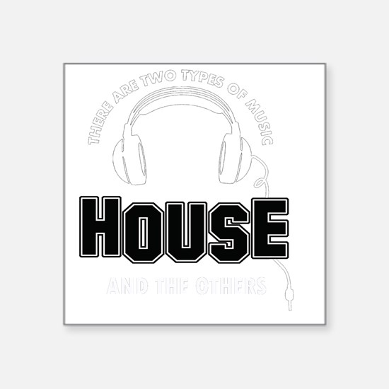 """House And The Others Square Sticker 3"""" x 3"""""""