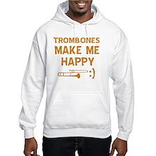 My Trombone makes me happy Jumper Hoody