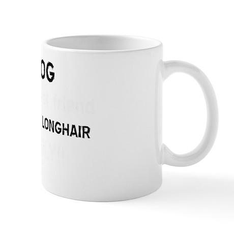 British Longhair cat designs Mug
