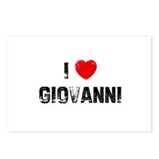 I * Giovanni Postcards (Package of 8)
