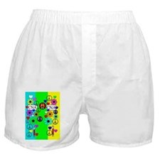 peace love nursing assistants 5 Boxer Shorts