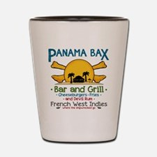 Panama Bax Bar and Grill 2 Shot Glass