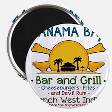 Panama Bax Bar and Grill 2 Magnet