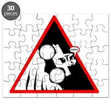 Hill Climb DUDE Danger Signs Puzzle