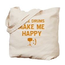 My Snare Drum makes me happy Tote Bag