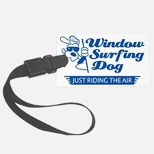 WinSurf_dog_A Luggage Tag