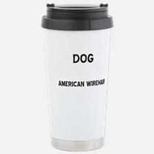 American Wirehair cat d Travel Mug