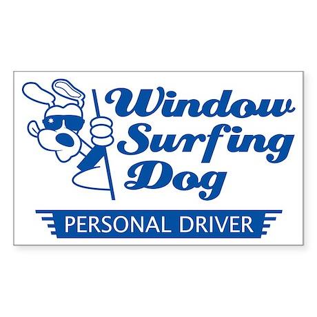 WinSurf_owner_T Sticker (Rectangle)