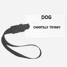 Chantilly Tiffany cat designs Luggage Tag