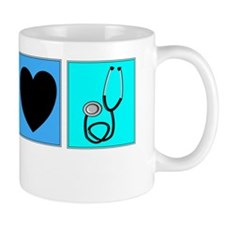 peace love nursing assistants 3 Mug