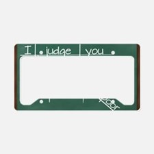 I judge you when you use poor License Plate Holder