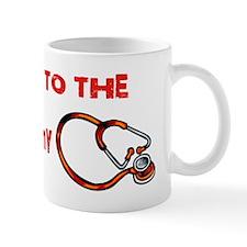 Stethoscope Music Mug